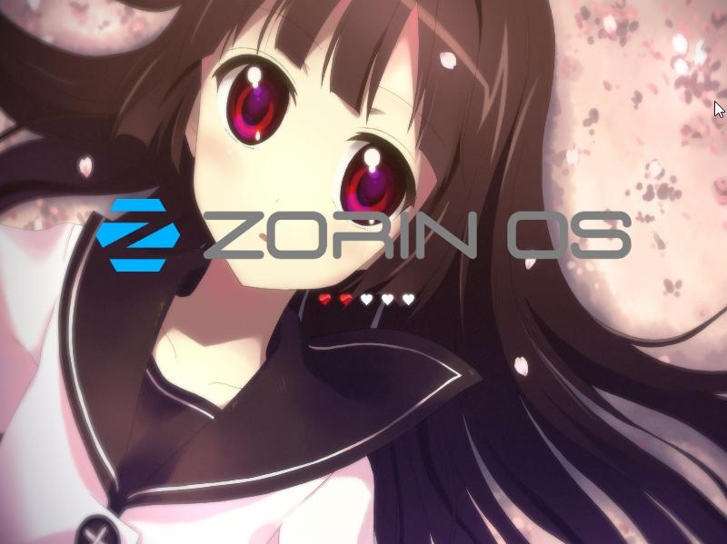 Zorin OS 9の萌え化
